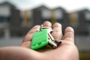 Schlüsselübergabe nach Mietkaution